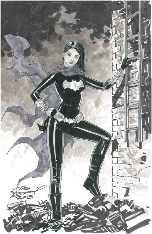 Black Bat (Cassandra Cain) by Tony Daniel