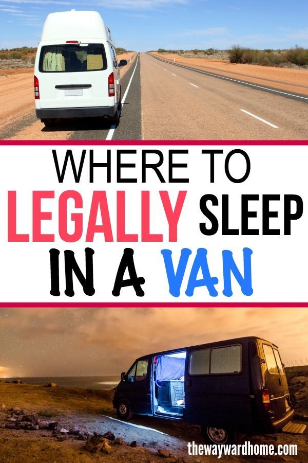 Is it illegal to sleep in your car? From city streets, to