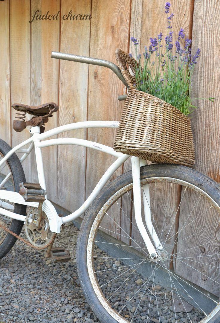 http://fadedcharmcottage.blogspot.com/2014/07/a-vintage-bicycle.html
