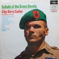 """The Ballad of the Green Berets"" is a patriotic song in the ballad style about the Green Berets, an elite special force in the U.S. Army. It is one of the very few songs of the 1960s to cast the military in a positive light, yet it became a major hit, reaching No. 1 on the Billboard charts for five weeks in 1966"