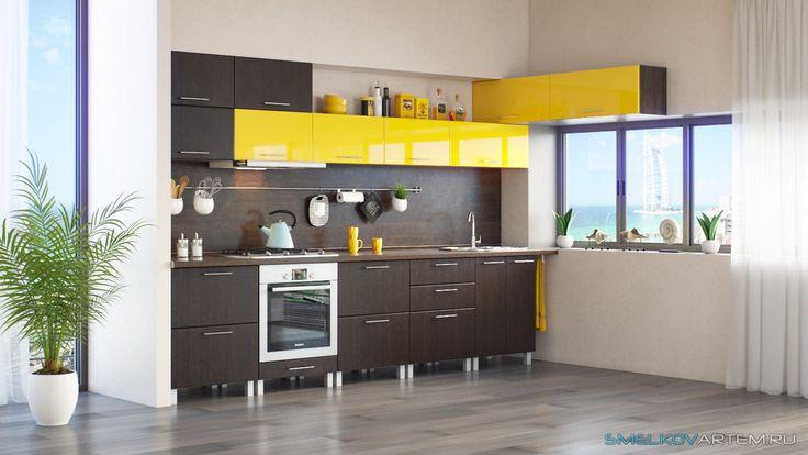 3D Визуализация - Кухонный гарнитур для каталога