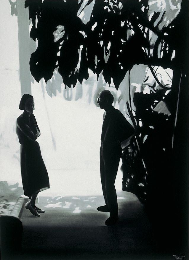 Mr and Mrs Engel in Calabasas 1994. Laszlo Feher