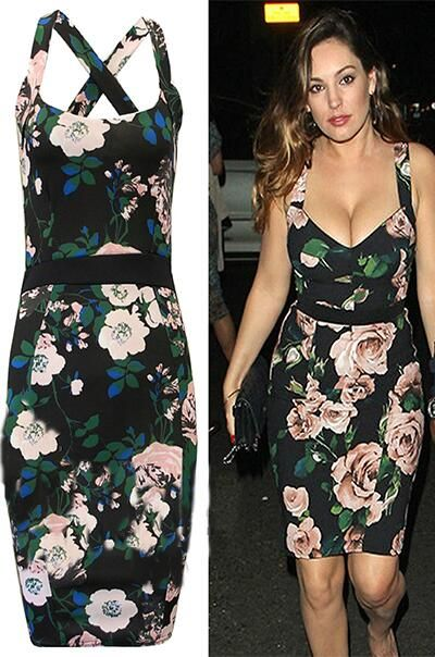 NEW In Stock Kelly Brook Style Floral Celeb Bodycon Dress Who Wants One?  http://www.fdavenue.com/products/FDAvenue-Kelly-Celebrity-Floral-Cross-back-Bodycon-Dress-.html … 20% off TWITTER20 X