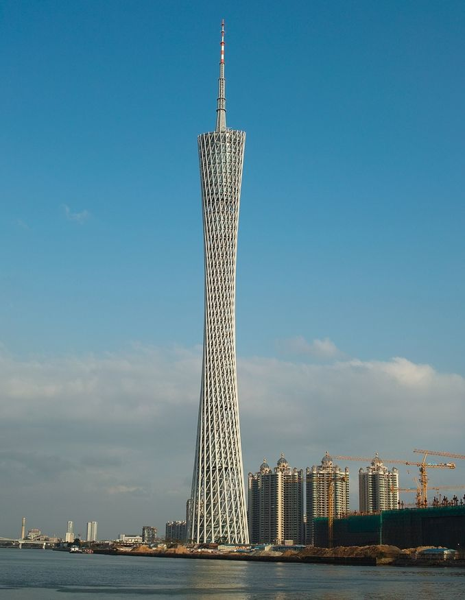 Canton Tower - Guangzhou, Guangdong, China