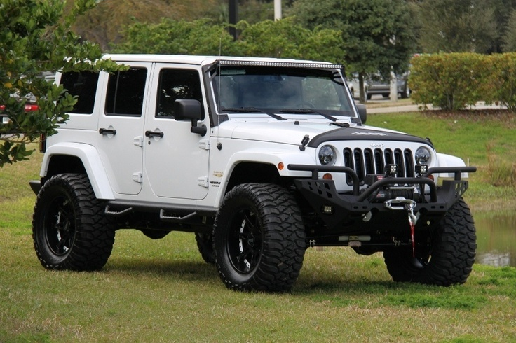 All White Wrangler 2