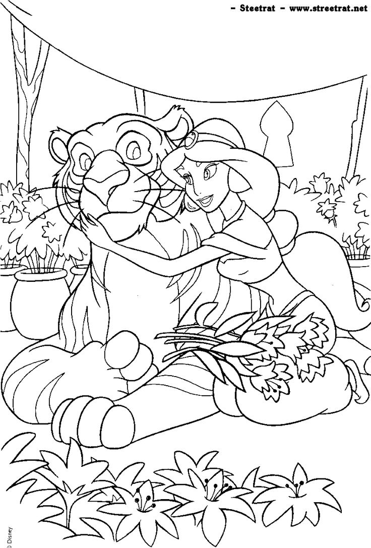 Disney princess birthday coloring pages - Disney Coloring Page
