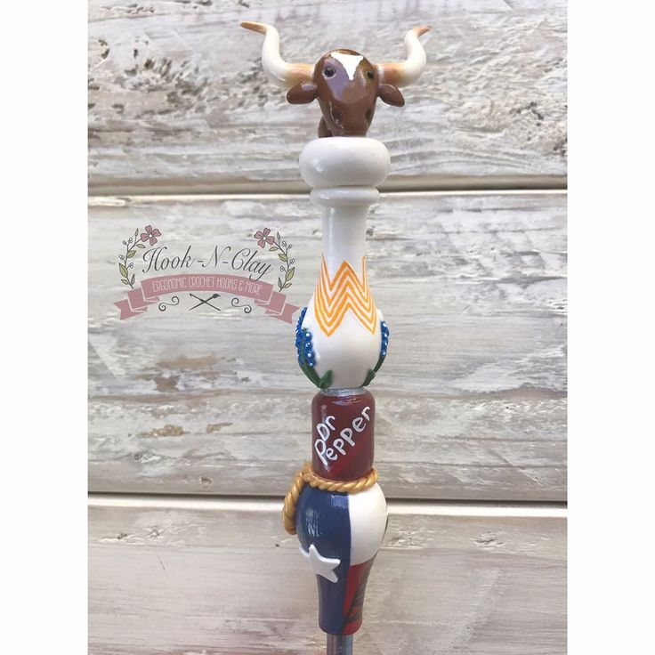 Texas State Inspired Ergonomic Crochet Hook includes #whataburger #bluebonnets #drpepper #lasso #longhorn and #oilrig. I will be doing a couple more custom state hooks which will be New York and South Carolina so stay tuned!!
