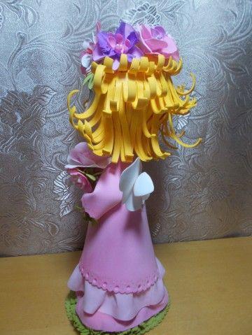 Новая кукла из фома
