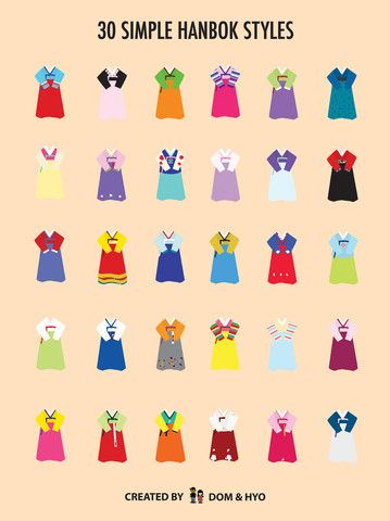 30 Simple Hanbok Styles (Free Shipping) – Dom & Hyo Store