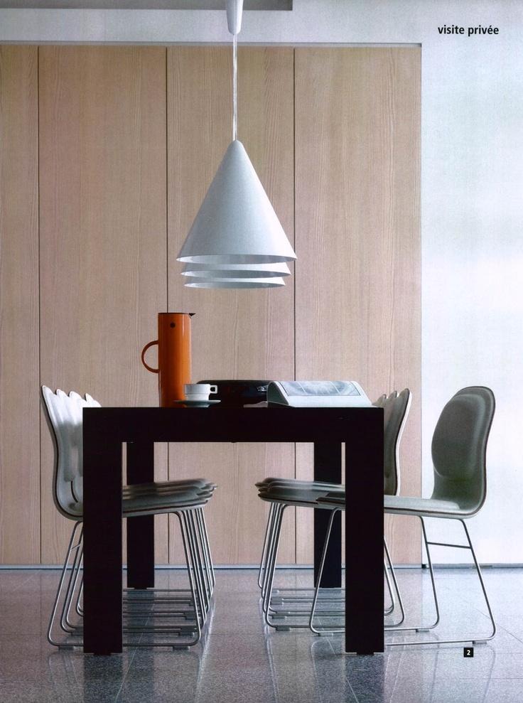 cappellini hi pad chairs by jasper morrison chair