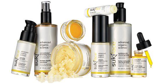 Suki skin cares økologiske hudpleje serie rummer 36 produkter. Suki har en klinisk bevist effekt på reduktion af problemhud og rynker. Suki er 100% uden syntetiske stoffer. Kig ind på www.beautysale.dk for at købe Suki skin cares økologiske hudpleje og make-up produkter.