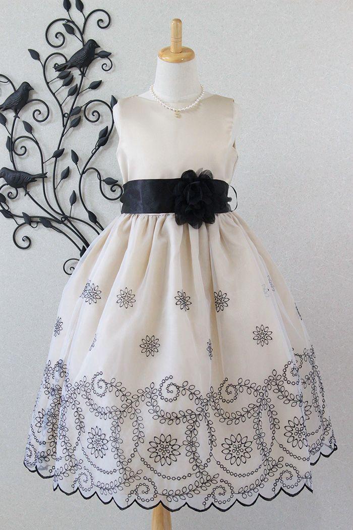 eae4c3df56042 子供ドレス 発表会 結婚式 3-293(140cm)シャンパンのfrontの