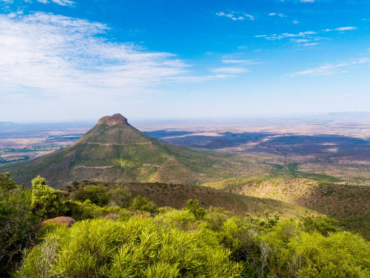 Spandaukop from Valley of Desolation NP