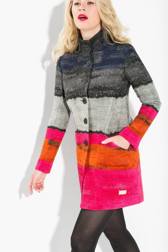 Gifts for her Desigual Coat Tango Pasion