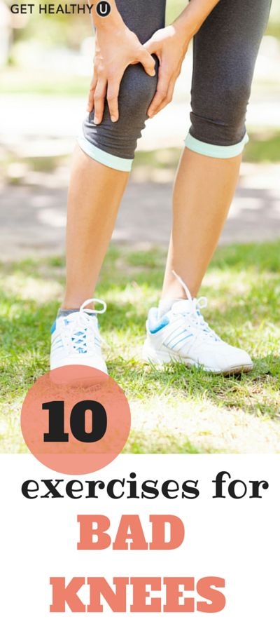 Bad knees? No problem use these lower-body exercises can help you combat knee pain!