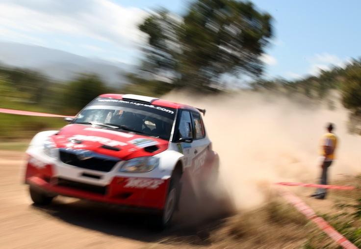 Chris Atkinson on SS1 2012 Rally of New Caledonia