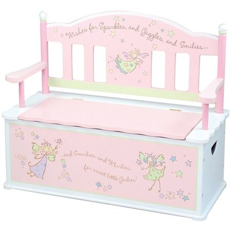 sweet toybox for a little girl