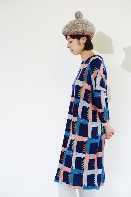 I'm obsessed with this dress by minä perhonen.