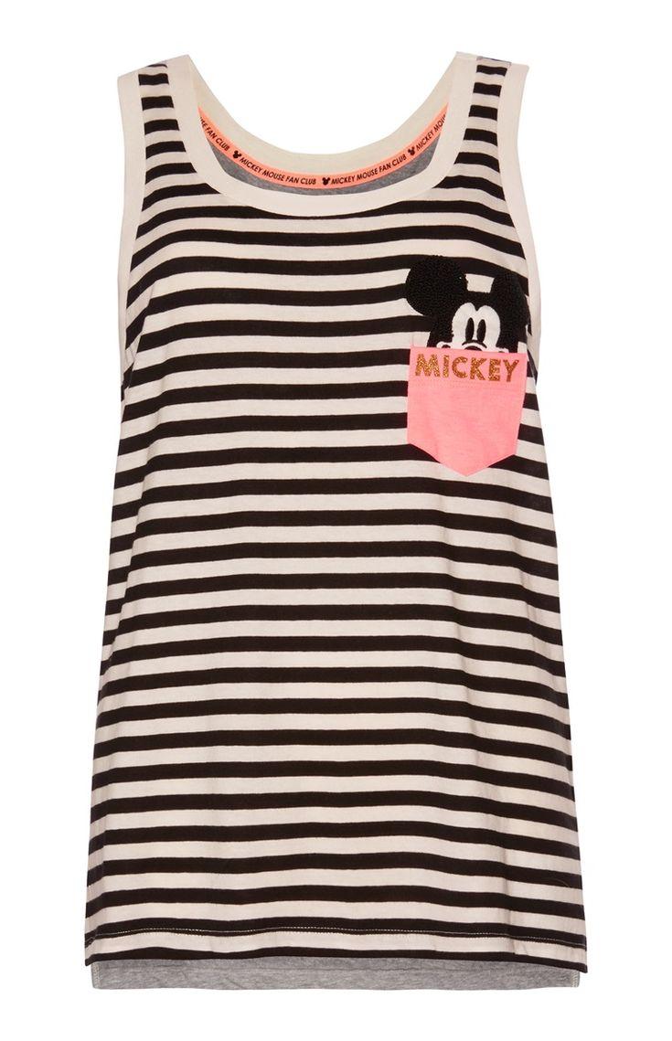 Primark - Gestreept pyjamatopje Mickey
