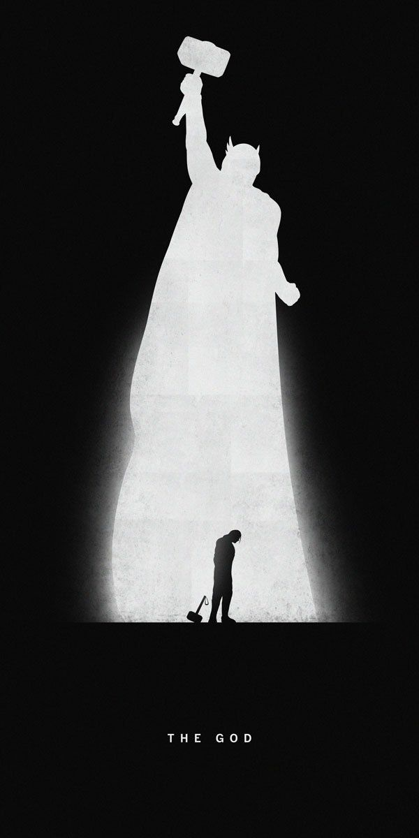 Khoa Ho - Superheroes- Past:Present Vol.2 thor