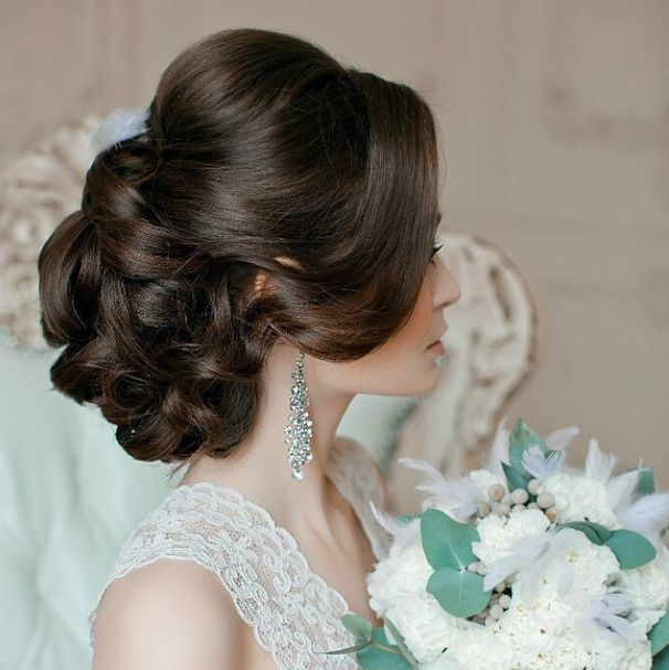 Wedding Party Hairstyles Stunning 60 Best Wedding Hair And Make Up Images On Pinterest  Bridal