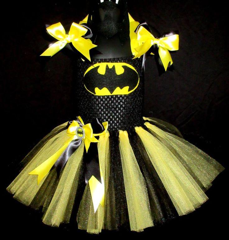 Batman Halloween Tutu Dress, Batman Tutu, Batman,Batman Halloween Costume,Halloween Costume, Girls Batman Tutu Dress, Comic Con, Super Hero