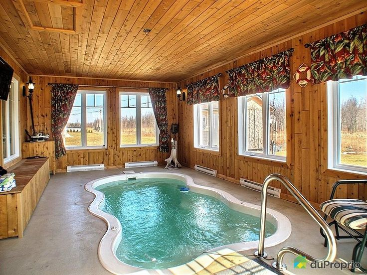 19 best spa de nage images on Pinterest Indoor pools, Indoor - whirlpool im wohnzimmer