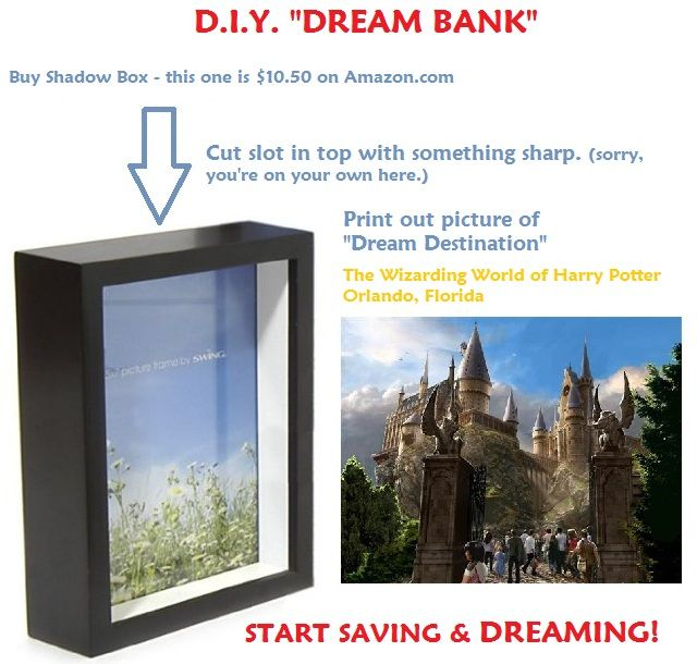 """I Have A """"Dream Bank"""" - One Good Thing by Jillee"""