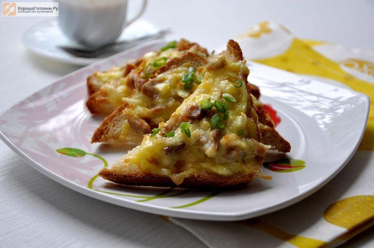 Горячие бутерброды с курицей  Автор: Людмилa Семенюк