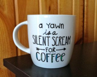 Write your own saying on a mug!