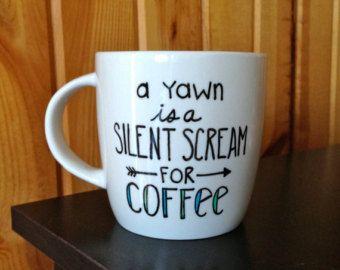 Write your own saying on a mug!