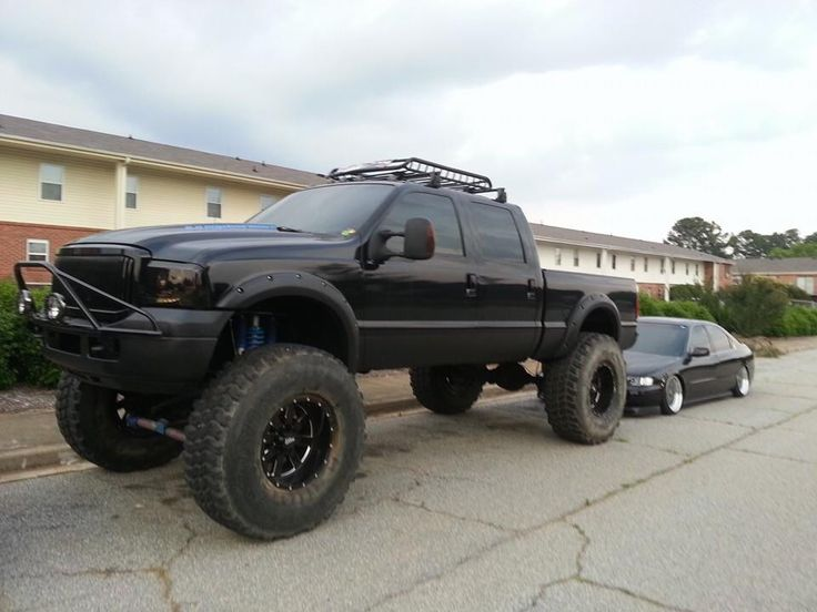 05 F250 On 46s Lifted TrucksFord