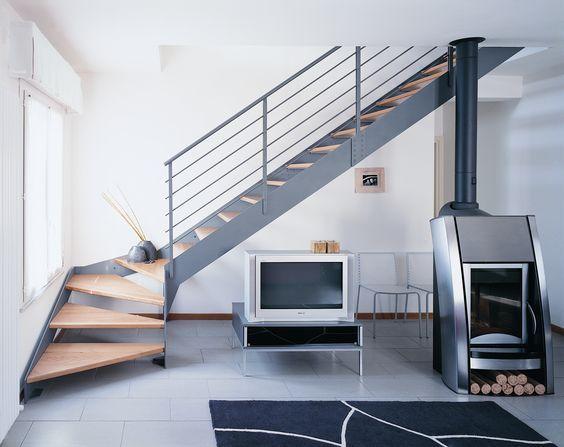 escaleras compactas y perfectas para casas pequeas