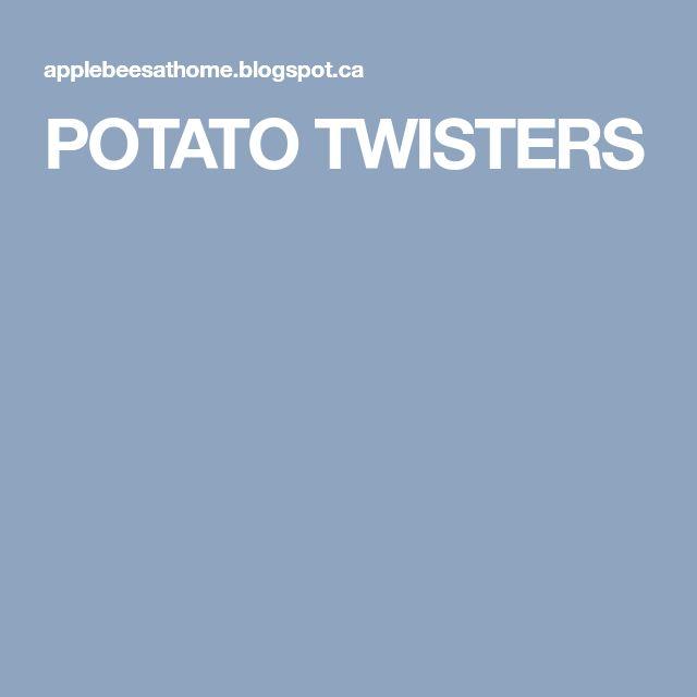 POTATO TWISTERS