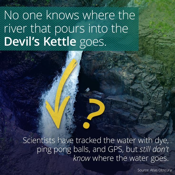 The Mystery Of The DIsappearing Water In The Devil's Kettle