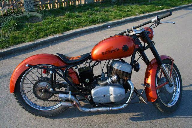 Os Motociclistas Made in Brasil: Jawa350 Bobber.