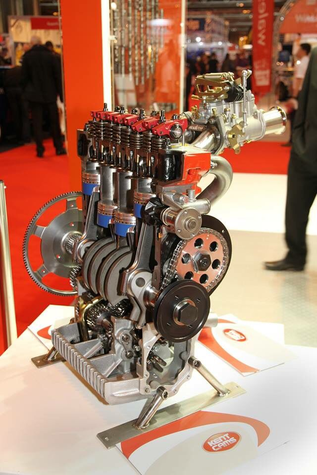 #Swiftune - Cross section #Mini race engine