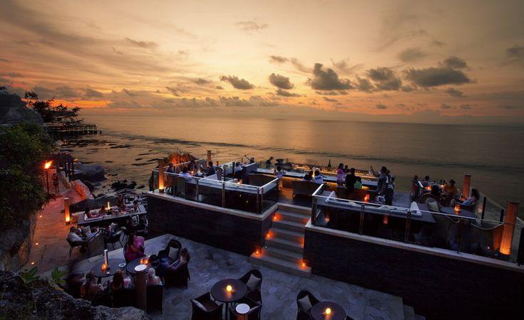 Sunset at Rock Bar
