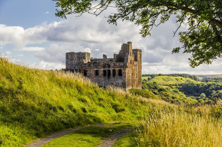 CHRICHTON Castle by thomas h. mitchell on 500px