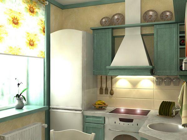 Пример дизайна кухни: 3
