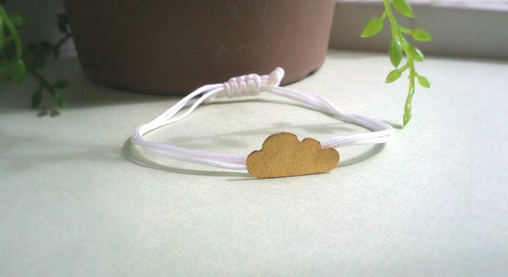 bracelet with brass cloud! #bracelets #handmade #jewelry