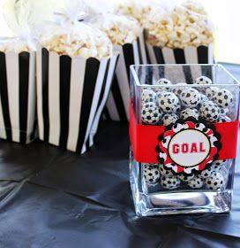 So Cute Parties: Soccer Theme Party Manchester United