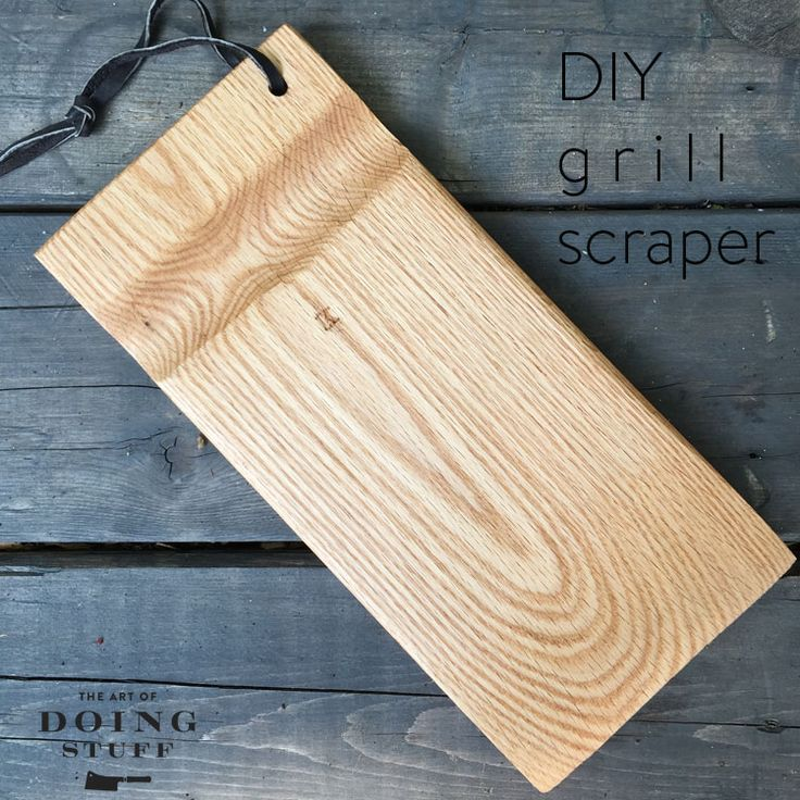 Wire grill brushes are a safety hazard. Bristles often come loose getting stuck in your food and worse, your throat! DIY a safe grill brush in one hour!