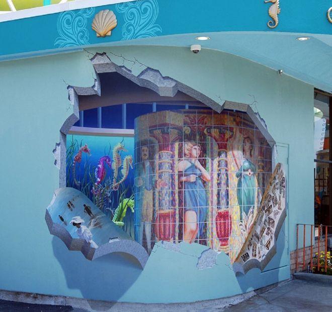 Walls 31 - Trompe l'oeil
