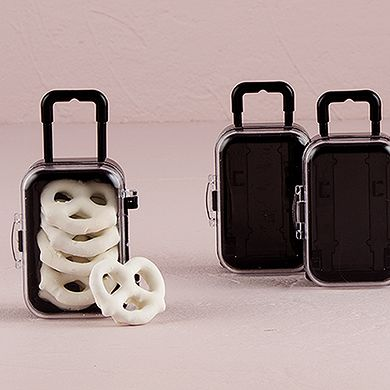 Since you eloped - Miniature Travel Trolley with Wheels and Retractable Handle