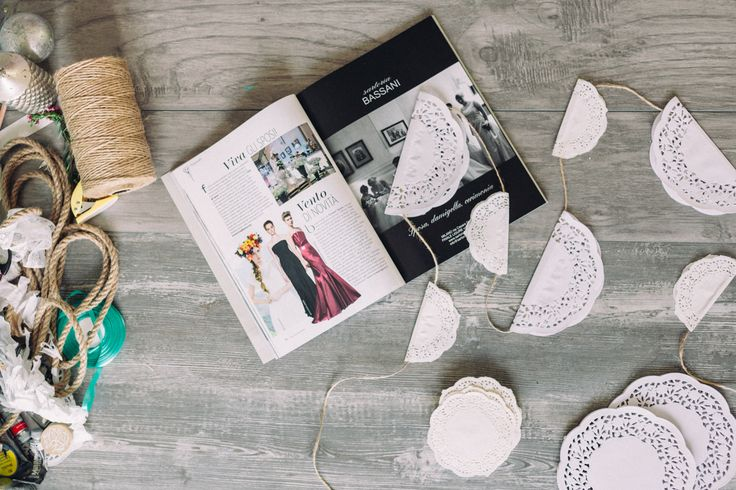 How to DIY lace garland  Find out on Marry.ua and pin it!