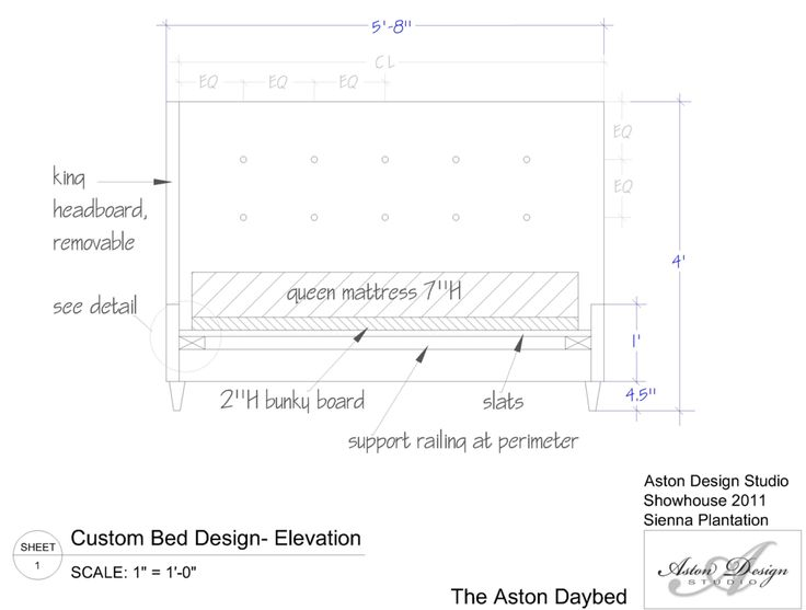 Design Your Own Upholstered Daybed :: Carla Aston