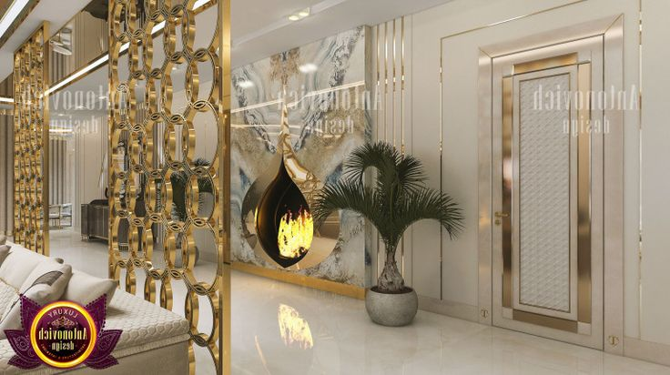 Marble Fireplace For Unique Interior Design By Luxury Antonovich Brand