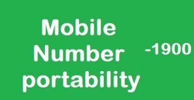Porta il Numero (Mobile Number Portability) via Internet