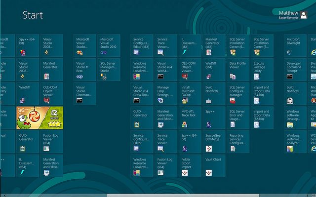 That Windows 8 experience? Confusing. Confusing as hell